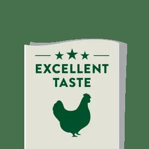 Excellent taste